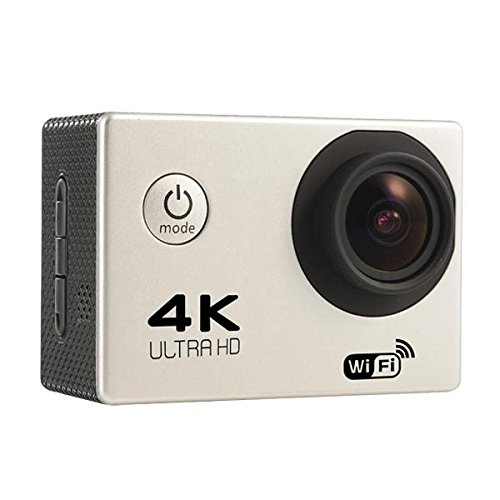 4K Sports Camera Wifi - Wifi Sports Camera - F60 Sport Action Camera 4K WiFi Allwinner V3 Chipset OV4689 16.0MP Image Sensor - Gray (Hd Wifi Sports Camera)