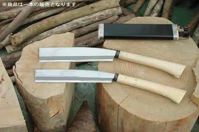 腰鉈営林210磨 片刃 青鋼 54幅 nao-015-1 B00B47GX54