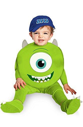 Disguise Costumes Disney Pixar Monsters University Mike Classic Infant, Green/White/Blue, 12-18 Months ()