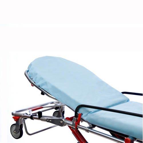 Graham Medical 44547 Snug Fit Nonwoven Stretcher Sheet, 30'' Width, 84'' Length, Blue (Pack of 50)