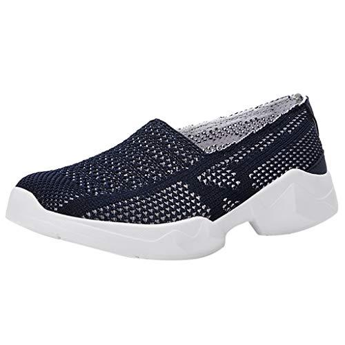 Loosebee Walking Shoes Ladies - Casual Sneakers Set Flexible Socks Shoes Non-Slip Shoes ()