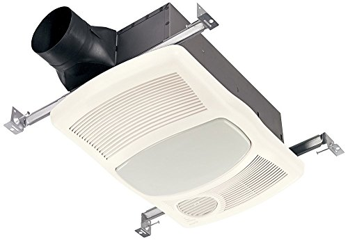 Broan 765HFL Ventilation Fan with Directionally-Adjustable Heater & Light (27W Fluorescent Lighting) (Adjustable Fluorescent Light)