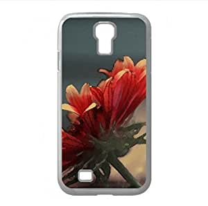 Gerbera Watercolor style Cover Samsung Galaxy S4 I9500 Case (Flowers Watercolor style Cover Samsung Galaxy S4 I9500 Case)