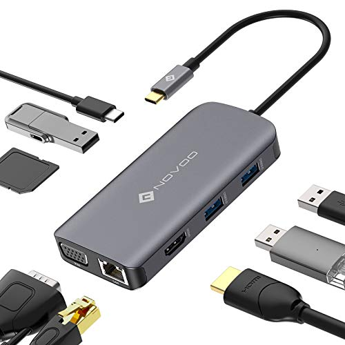 NOVOO USB C HUB Multiport