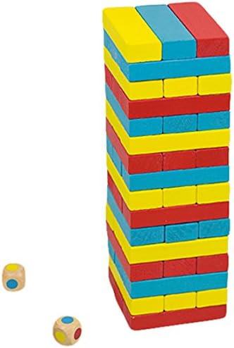Andreu Toys - Torre Colores, Juego de Habilidad, 48 Piezas (16215): Amazon.es: Juguetes y juegos