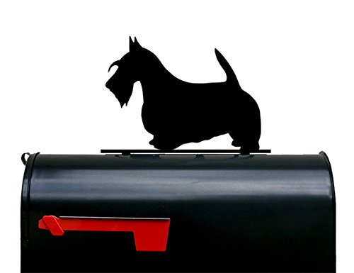 Scottish Terrier Mailbox Topper/Sign by NewnanMetalWorks