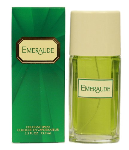(Emeraude By Coty For Women Cologne Spray, 2.5 Ounce Perfume for Women, Classic Scent Makes a Great Gift for)