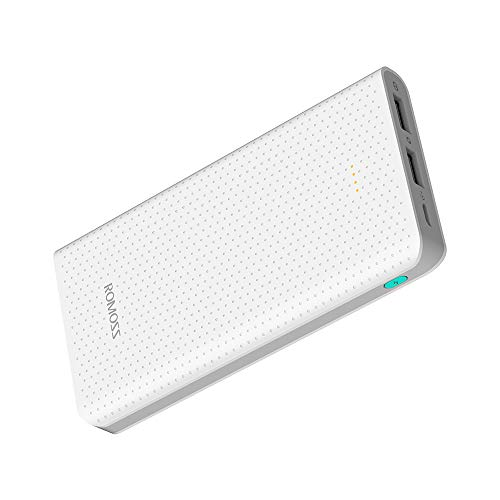 ROMOSS 10000mAh Portable Charger, Long Lasting Power Banks, Fast Charge Power Supply, Ultra-Compact External Battery Packs Compatible with Cellphones, Tablet & Other Devices (Best Long Lasting Battery Phone)