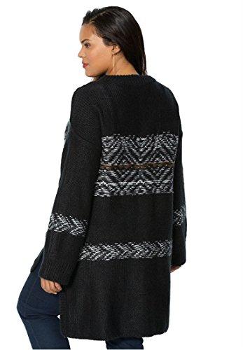 Women's Plus Size Fair Isle Sweater