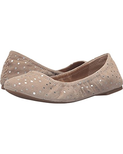 Emmie cuero Grout Brand Luxe Dots Lucky de Bailarinas para mujer Leoprd xC6w5qpIq