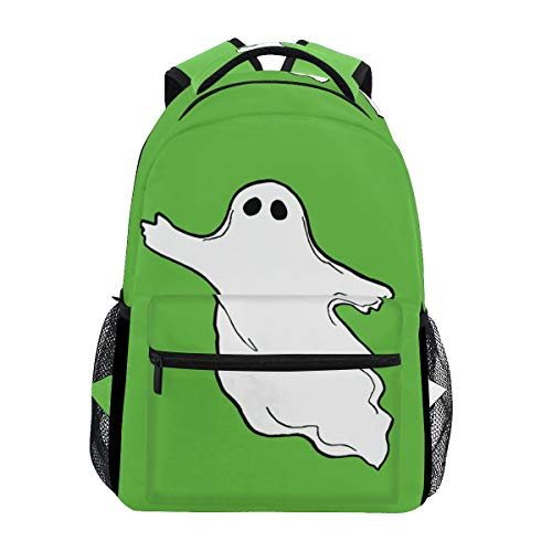 IMOBABY Halloween-Photos-Flying-Ghost-Clipart School Backpack Book Bag Travel