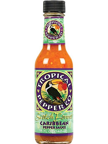 Tropical Pepper Co. Scotch Bonnet Caribbean Pepper Sauce, 5 Fl. Ounce