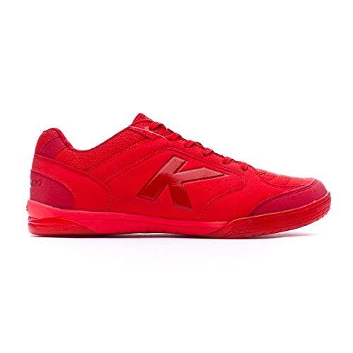 Kelme Precision Full Color, Zapatilla de fútbol Sala, Rojo, Talla 10,5