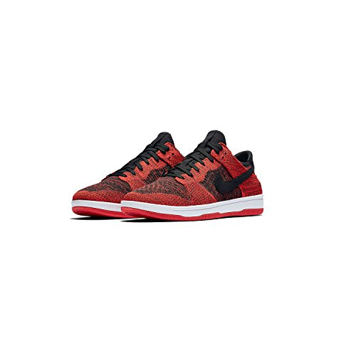 Black chile NIKE Scarpe Dunk white Uomo Basket Flyknit Black da Red xYRZwYP1q