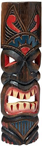 FOREVER BAMBOO MASK20-8 Hawaiian Tiki Mask, 20