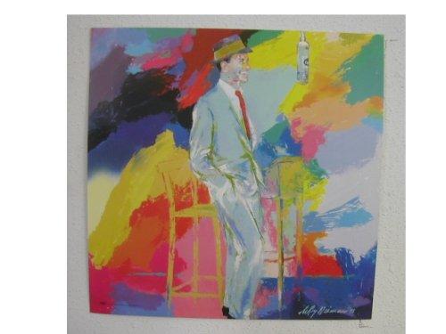 Frank Sinatra Poster Leroy Neiman