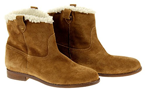 J Crew Madewell The Otis Boot in Shearling Style# A0123 Brown New Size 11 ()