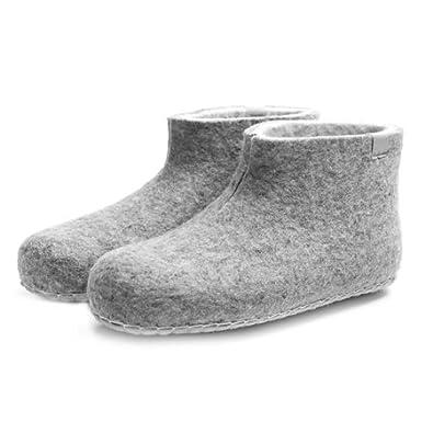 Damen-Filzschuhe Mule Grau - Schuhgröße 36 n8hKHGoI4