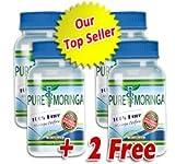 Pure Moringa: #1 Moringa Oleifera Extract (4 bottles) Review