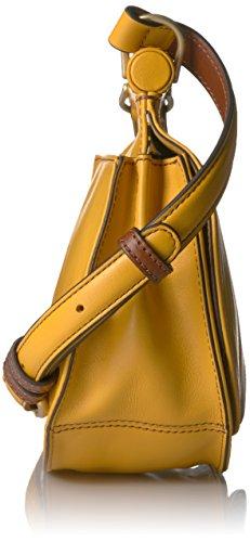 Leather Bradley Sidesaddle Maize Crossbody Vera qH1wtX