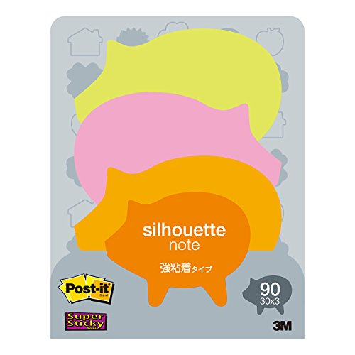 Little Sticky Silhouette 50mmx64mm Colors PIG