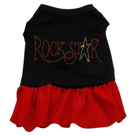Rock Star Dog Costumes (Mirage Pet Products 57-21 XSBKRD 8