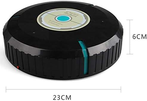 N / A Robotic Spazzamento pulitore del Robot, for Il Pavimento Corners Fessure casa Automatica dei Capelli Pet Cleaner Robot Intelligente (Color : White) White