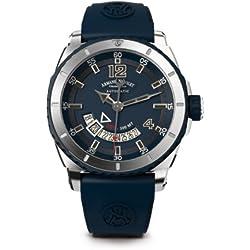 Armand Nicolet Men's A710AGU-BU-GG4710U S05 Analog Display Swiss Automatic Blue Watch