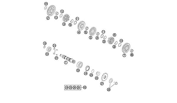 2mm ØInn 20X 01-0017.00X 2    ORING 70NBR O-ring Dichtung NBR D 17mm schwarz