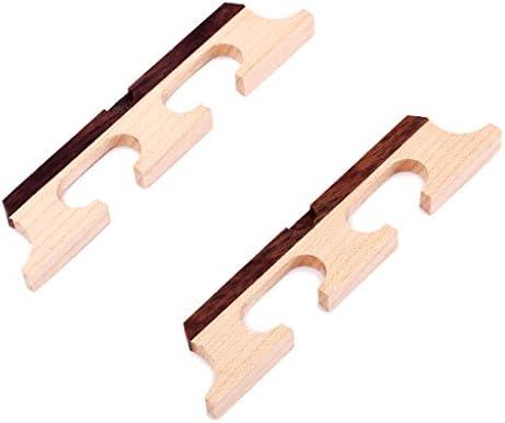 メープルローズウッドギターバンジョーブリッジサドル5弦3足2個パック