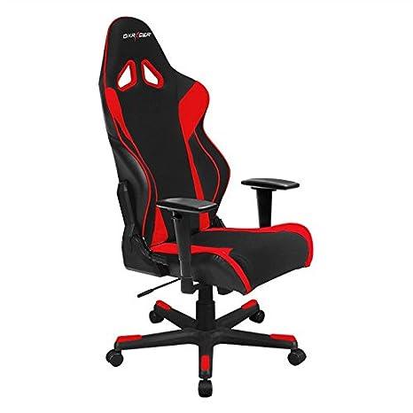 Amazon.com: DXRacer OH/rw106/Nr Racing Series Rojo y Negro ...