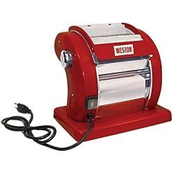 Weston Electric Pasta Machine, Red (01-0601-W)