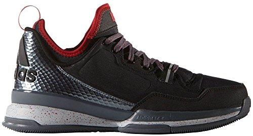 Adidas D Lillard uomo basketball scarpe basse nero rosso, Uomo, Clear Onix/Grey/Running White Clear Onix/Grey/Running White