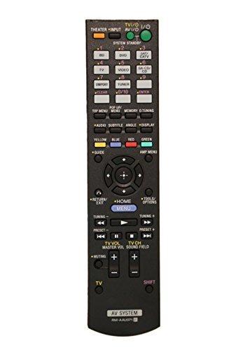 New Remote Control RM-AAU071 for SONY HT-SS370 HT-SS370HP STR-DH510 STR-DH510R STR-KS370 DVD Home Theater AV A/V Receiver -  Poramo