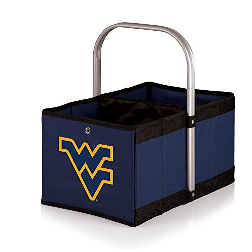 NCAA West Virginia Mountaineers Urban Market Basket, Navy