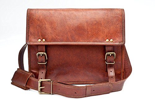 Urban Safari London Unisex Bag Handmade Real Leather Satchel ...