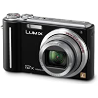 Panasonic Lumix DMC-ZS1 10MP Digital Camera with 12x Wide Angle MEGA Optical Image Stabilized Zoom and 2.7 inch LCD (Black) Overview Review Image