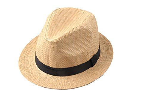 Dantiya-moda Uomo e Donna Unisxe Cappello Panama  4d6afa43cbb2
