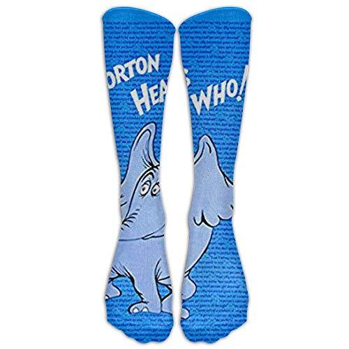 (FUNINDIY Horton Hears A Who High Crazy Socks for Women)