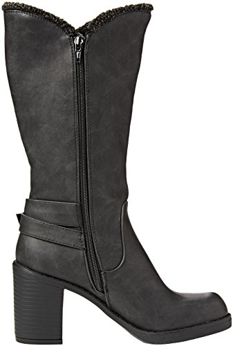 Rocket Dog Sadler, Stivali Donna Nero (Black (Roast Black))