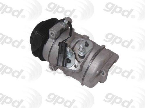 Global Parts Distributors 6512283 New Compressor