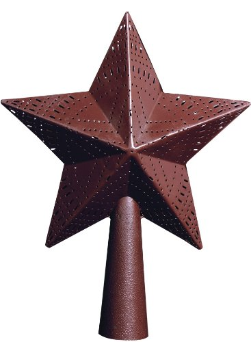 Park Designs Red Star 9'' Tree Topper