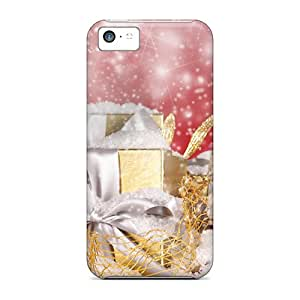 New PKd564rSzS Glowing Holidays Tpu Cover Case For Iphone 5c