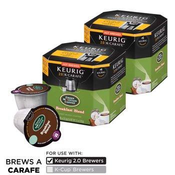 Green Mountain Coffee Breakfast Blend 24 K-CarafeTM Packs