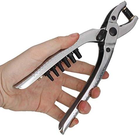 SSY-YU シューズバッグのための100pcsリベットハトメ穴パンチプライヤーツールグロメットはレザーベルト・アイプライヤーツール ペンチ 切断工具