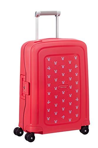 SAMSONITE S'Cure Hand Luggage, 55 cm, 34 liters, Red (Mickey Summer Red) (Best Samsonite Carry On 2019)