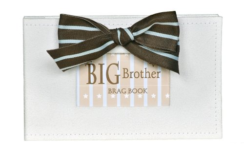 The Grandparent Gift Co. Brag Book, Big Brother (Big Brother Photo Book)