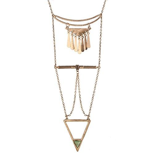 NL1200082C2 2016 Alloy Europe Geometric Plating Women's Necklace