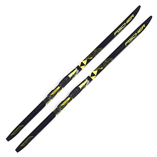 Fischer 2019 Junior Sprint Crown Cross-contry Skis w/Tour Junior Bindings (120) (Fischer Crown Sprint)