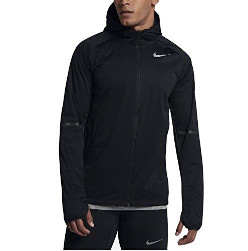 Men's Nike Shield Max Running Jacket, Size Large - Black  by Nike
